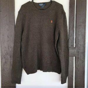 Polo Ralph Lauren Crew Neck Sweater Pullover Linen
